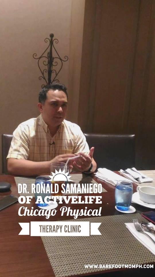 Dr. Ronald Samaniego Doctor of Physical Therapy